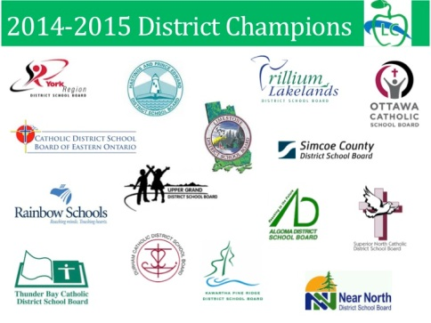 2014-15 District Logos